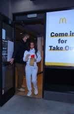 KIM KARDASHIAN at a McDonalds in Calabasas 03/16/2021