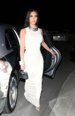 KIM KARDASHIAN Out for Dinner in Los Angeles 03/14/2021