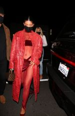 KYLIE JENNER at Nice Guy in West Hollywood 03/25/2021