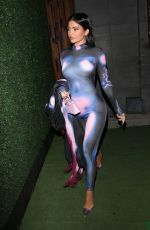 KYLIE JENNER in Tights Night Out in Malibu 03/29/2021