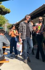 LAETICIA HALLYDAY and Jalil Out Shopping in Malibu 03/21/2021