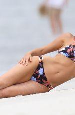 LARA BINGLE in Bikini at Seafolly Photoshoot in Sydney 02/28/2021