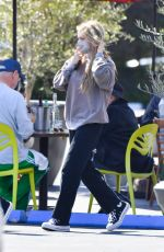LENI KLUM Out for Lunch in Malibu 03/21/2021