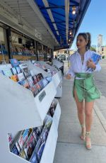 LEXY PANTERRA Shoping for Magazines Out in Woodland Hills 03/29/2021