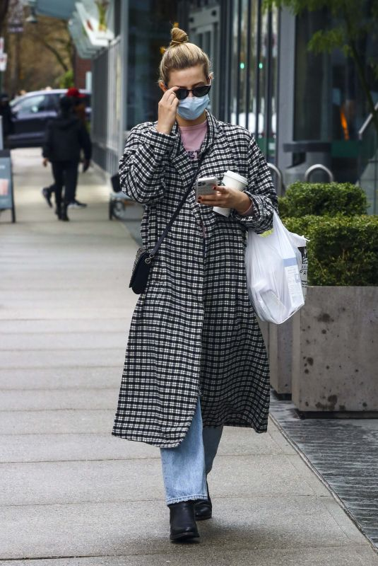 LILI REINHART Out for Coffee in Vancouver 03/07/2021