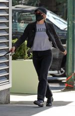 LILI REINHART Out with Her Dog in Vancouver 03/25/2021