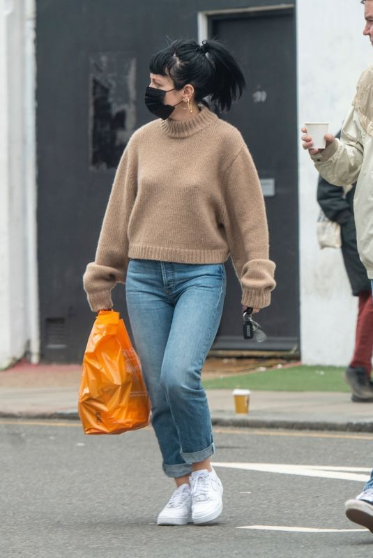 LILY ALLEN Out in London 03/02/2021