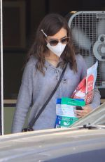 LILY COLLINS Out in West Hollywood 03/29/2021