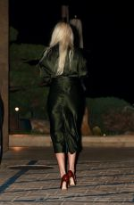 LINDSEY VONN Leaves Nobu in Malibu 03/01/2021
