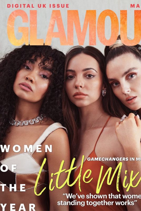 LITTLE MIX on the Cover of Glamour Magazine, UK March 2021
