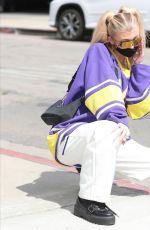 LOREN GRAY on the Set of Honestly Loren in Los Angeles 03/24/2021