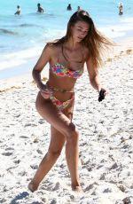 LORENA RAE in Bikini at a Beach in Miami 03/27/2021