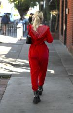 LOTTIE MOSS Out in Beverly Hills 03/02/2021