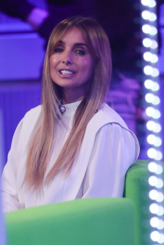 LOUISE REDKNAPP on the Set of The One Show in London 03/04/2021