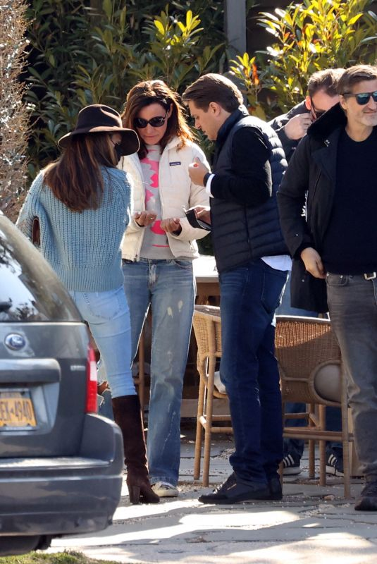 LUANN DE LESSEPS Out for Lunch in Sag Harbor 03/21/2021