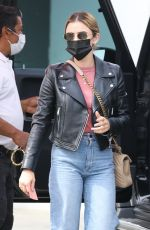 LUCY HALE in Denim Out Shopping in Los Angeles 03/07/2021