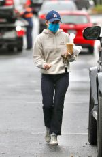 LUCY HALE Out and About in Los Angeles 03/03/2021