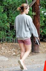 LUCY HALE Out for Morning Hike in Studio City 03/07/2021