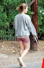 LUCY HALE Out Hiking in Studio City 03/07/2021