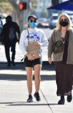 LUCY HALE Shopping at American Rag Cie in Los Angeles 03/02/2021