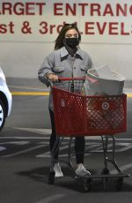 lucy hale shopping at Target in Los Angeles 03/09/2021