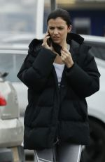 LUCY MECKLENBURGH Shopping at Aldi in Essex 03/05/2021