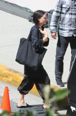 MARGOT ROBBIE on the Set of Her New Movie in Pasadena 03/16/2021