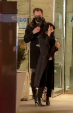 MARY KATE OLSEN and John Cooper Night Out in New York 02/26/2021