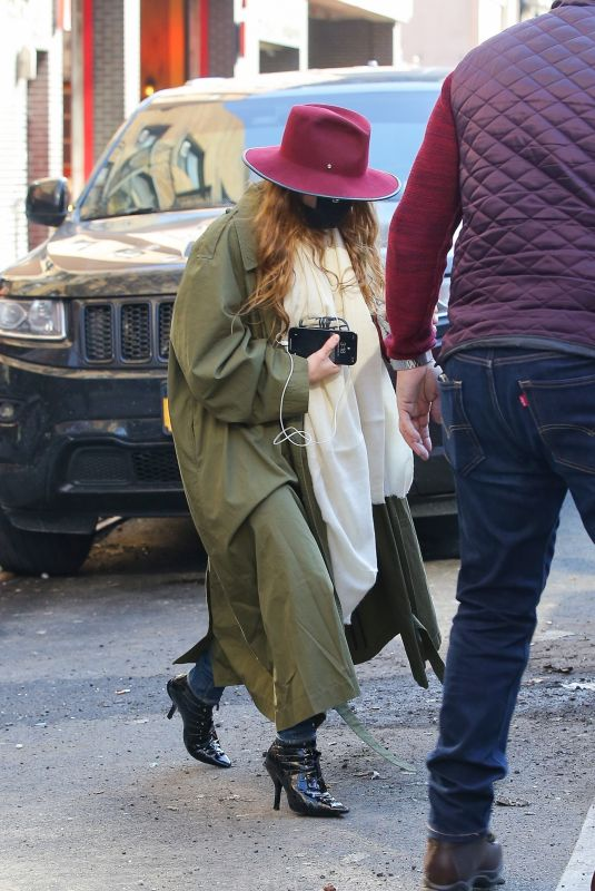 MARY KATE OLSEN Out for Iced Coffee in New York 03/10/2021