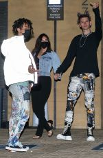 MEGAN FOX and Machine Gun Kelly at Nobu in Malibu 03/01/2021