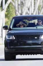 MEGHAN MARKLE and Prince Harry Out Driving in Santa Barbara 02/28/2021