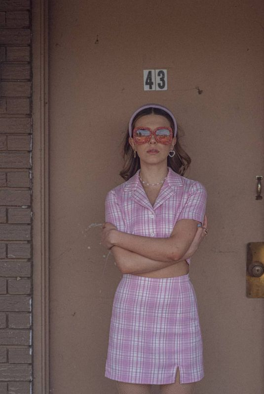 MILLIE BOBBY BROWN at a Photoshoot, March 2021