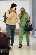 MIRANDA LAMBERT and Brendan Mcloughlin at LAX Airport in Los Angeles 03/06/2021
