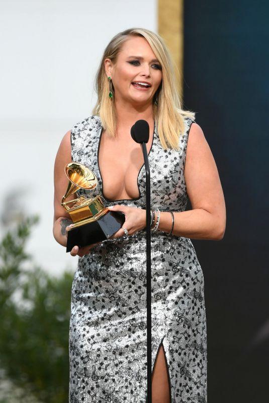 MIRANDA LAMBERT at 2021 Grammy Awards in Los Angeles 03/14/2021
