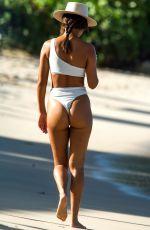 MONTANA BROWN in Bikini on the Beach in Barbados 03/06/2021