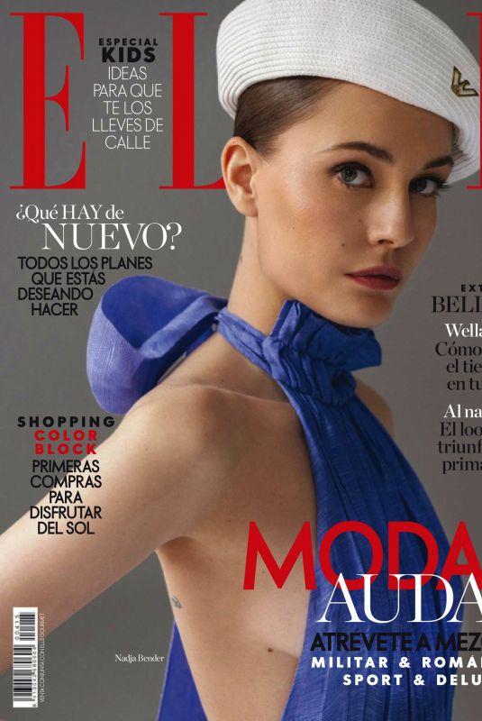 NADJA BENDER in Elle Magazine, Spain April 2021
