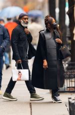NAOMI CAMPBELL Out and About in New York 03/28/2021