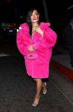 NIKITA DRAGUN at BOA Steakhouse in West Hollywood 03/27/2021
