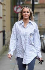 OLIVIA ATTWOOD Out in Manchester 03/03/2021