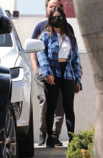 OLIVIA MUNN Leaves a Gym in Santa Monica 03/22/2021