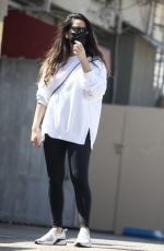 OLIVIA MUNN Out in West Hollywood 03/30/2021