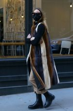 OLIVIA PALERMO Out in Brooklyn 03/03/2021