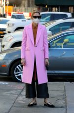OLIVIA PALERMO Out with Her Dog in Brooklyn 03/30/2021