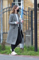 OLIVIA WILDE Out for Coffee in London 03/24/2021