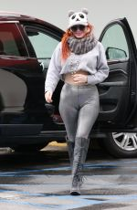 PHOEBE PRICE at Staples in Los Angeles 03/07/2021