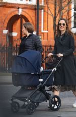 PIPPA MIDDLETON Out and About in Grace 03/23/2021