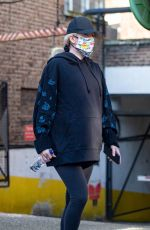 Pregnant ELLIE GOULDING Out in London 03/02/2021