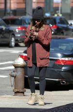 Pregnant EMILY RATAJKOWSKI and Sebastian Bear-mcclard Out with Their Dog in New York 03/07/2021