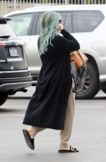 Pregnant HILARY DUFF Heading to Workout in Los Angeles 03/07/2021