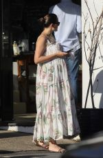 Pregnant JESINTA FRANKLIN Out in Sydney 03/03/2021